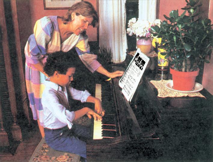 Βιοανάδραση μάθηση πιάνο σε παιδί